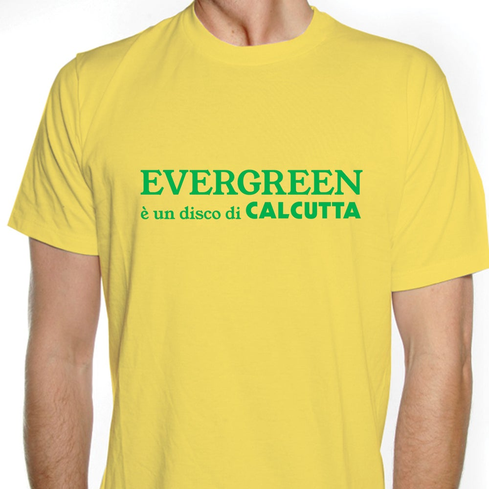 Image of Calcutta: EVERGREEN (è un disco di) T-Shirt
