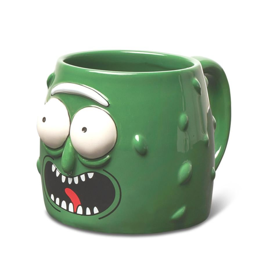 Image of PRIMITIVE RICK & MORTY PICKLE RICK 3D MUG