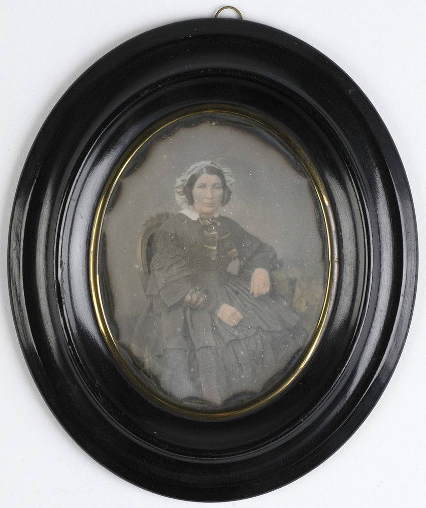 Image of Alphonse PLUMIER: daguerreotype of a woman, ca. 1855