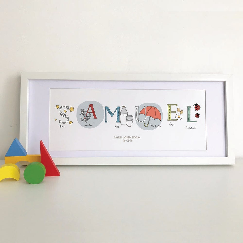 Image of Personalised Name Print