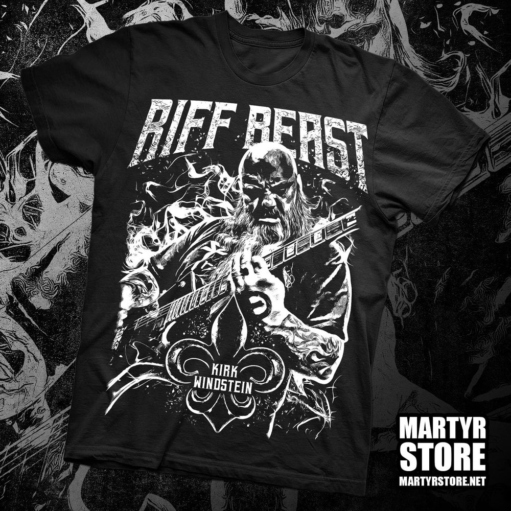 Image of KIRK WINDSTEIN RIFF BEAST SHIRT