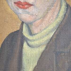 Image of 1922, Female Portrait, Cuthbert Julian Orde