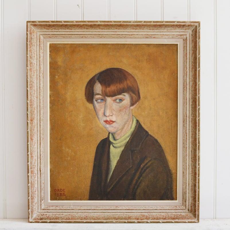 Image of 1922, Female Portrait, Cuthbert Julian Orde