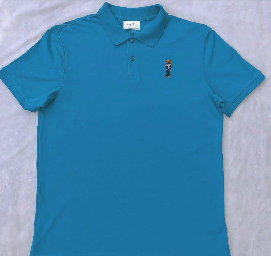 Image of Prestige Kloset Polo Shirt-Cotton (Black/White)