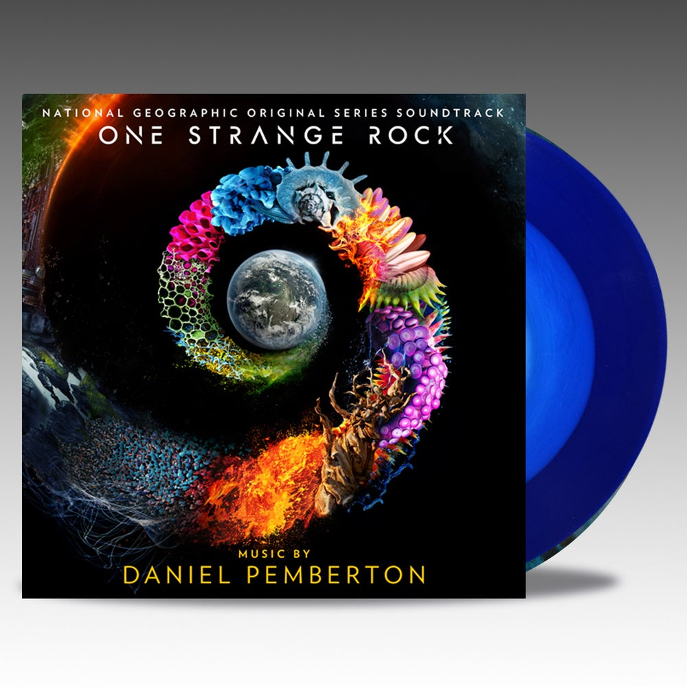 Image of One Strange Rock - 'Planetary Two Tone Blue w/ White Vinyl - Daniel Pemberton
