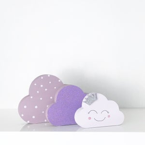 Image of Polkadot cloud set *princess & Boho*