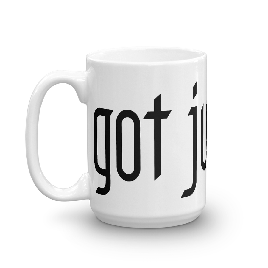 "Image of ""GOT JUSTICE?"" Coffee Mug"