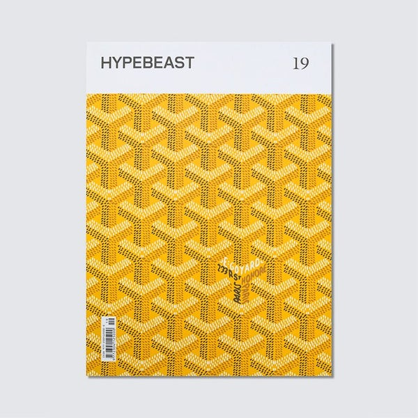 Image of HYPEBEAST 19 - Goyard Yellow - Last One