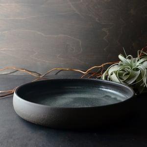 Image of Dark stoneware platter