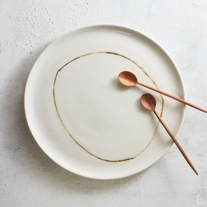 Image of Set of 2 porcelain plates