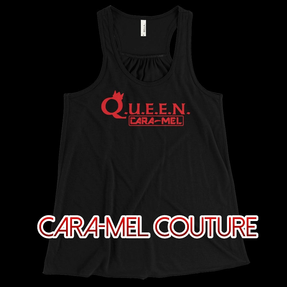 Image of Q.U.E.E.N. Black Tank Top