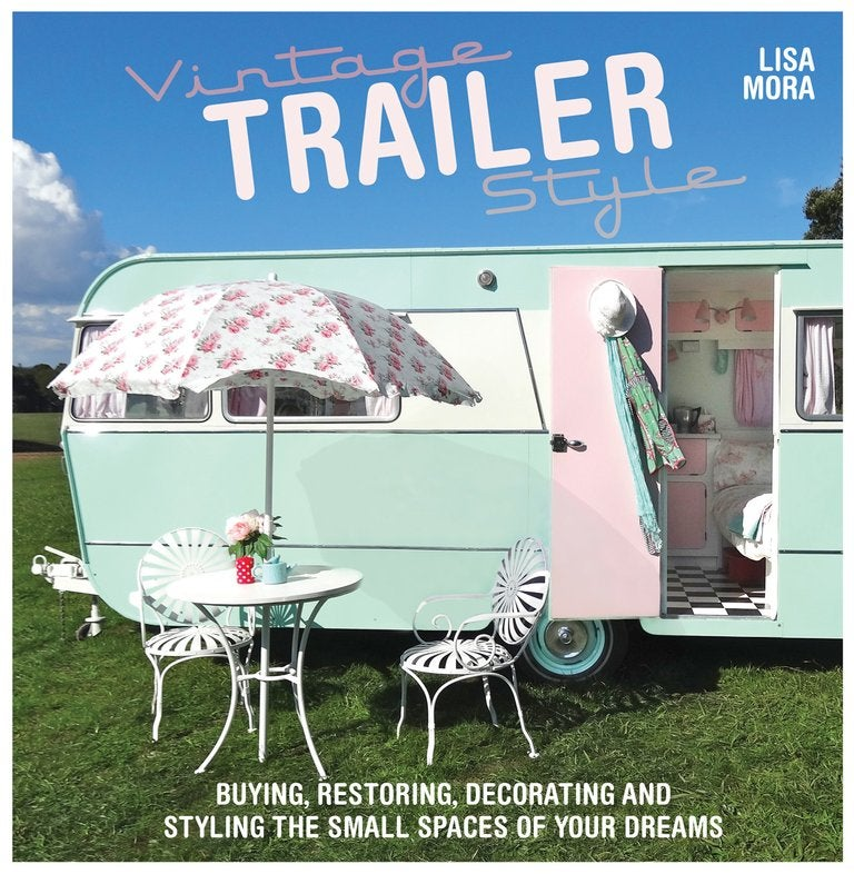 Image of Vintage Trailer Style Book (signed by author)