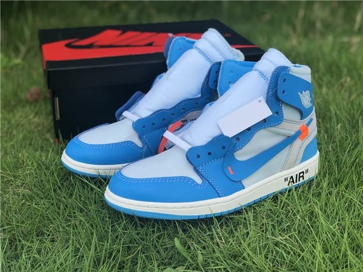 74fdc46f7e5ede Image of Jordan 1 Retro High Off-White University Blue