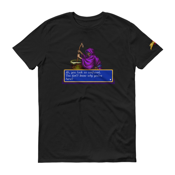 Image of Shining Force II Menu Witch Tee