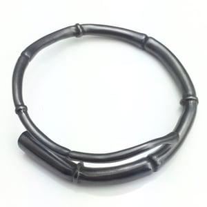 Image of Black Tendril Bangle Bracelet 04