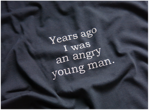 Image of 'AN ANGRY YOUNG MAN'