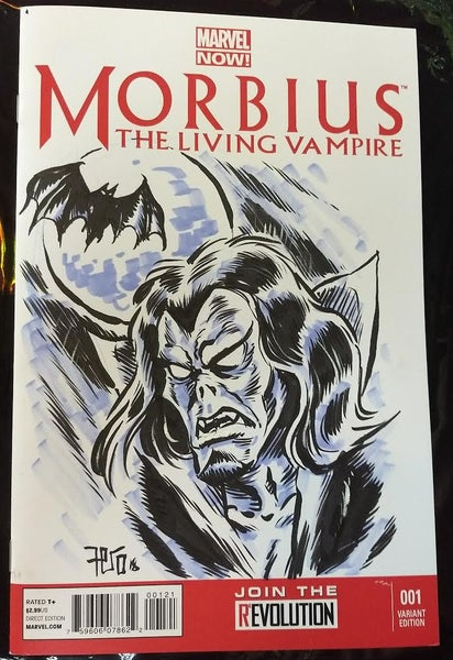 Image of Morbius sketch cover