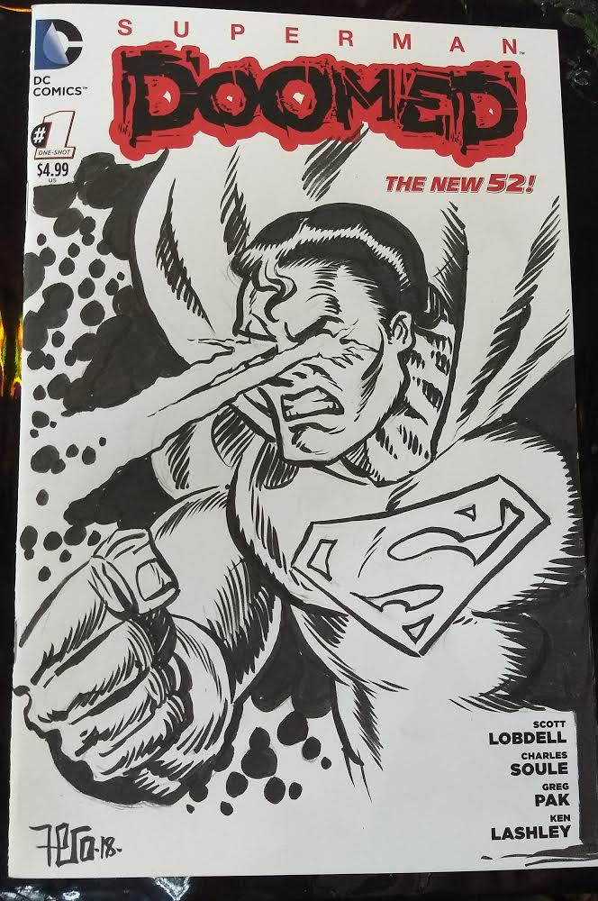 Image of Superman sketch Cover