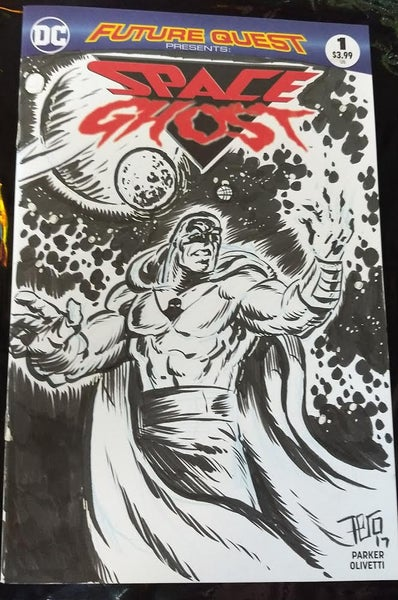Image of Space Ghost sketch cover