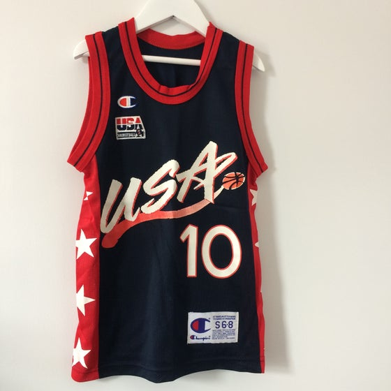 Image of Vintage Champion Dream Team Reggie Miller Jersey
