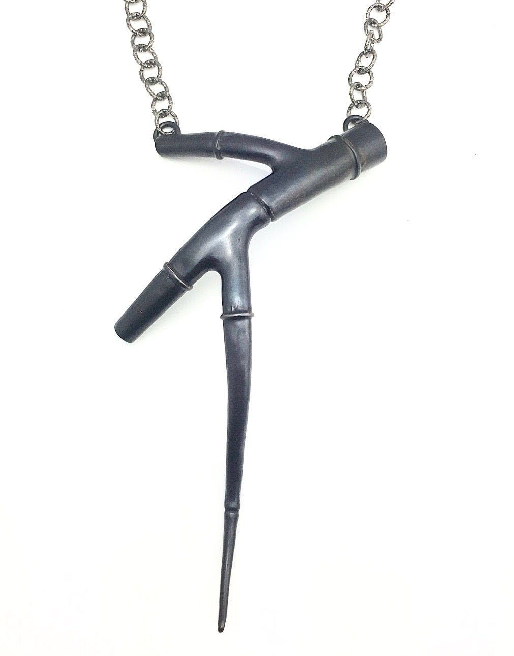 Image of Black Branch Tendril Pendant 03