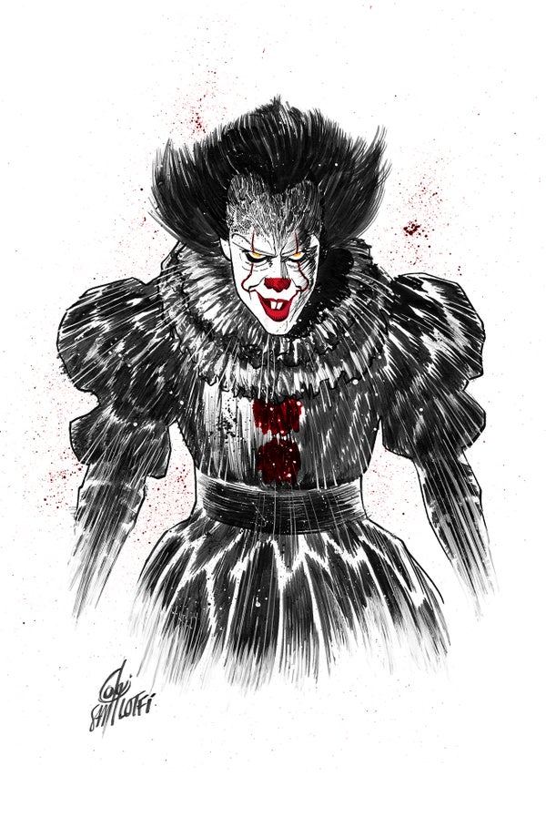 Image of PENNYWISE Art Print