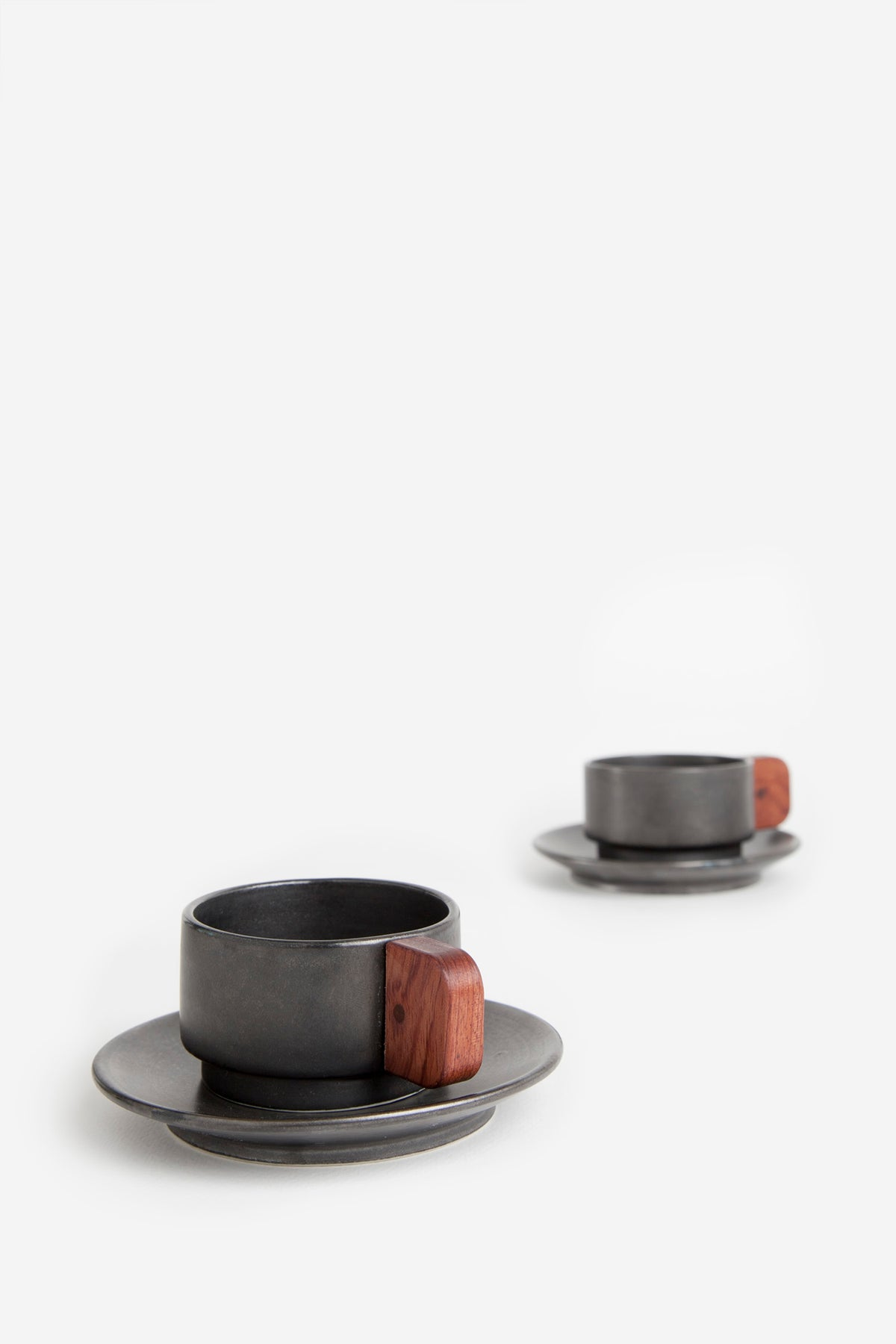Image of CUP Coffee. Black. Pack 2 unit.