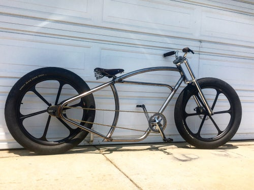 Image of Peek cycles x imperial cycles frame