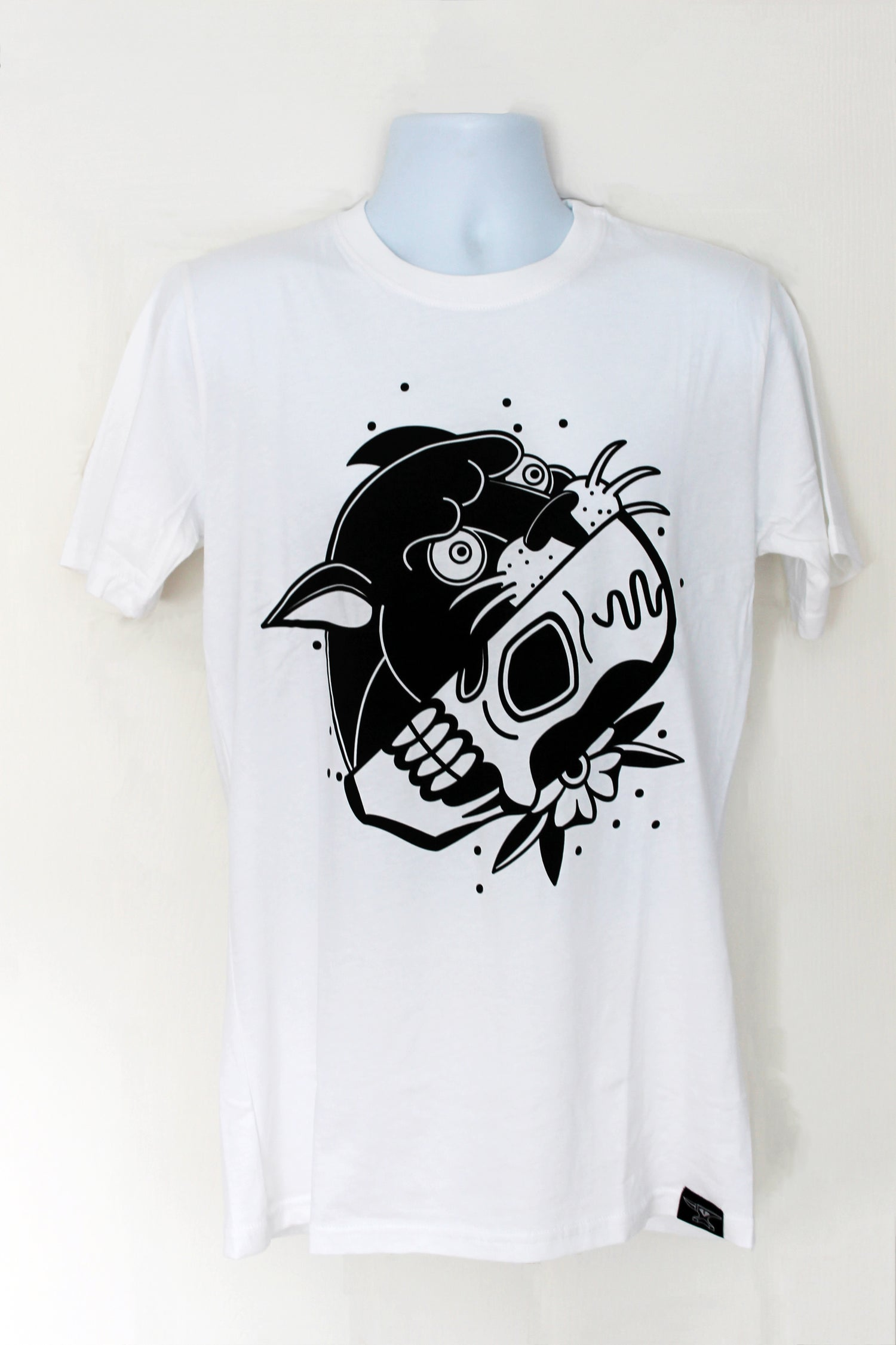 Image of Panther Skull T-Shirt
