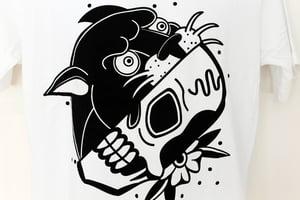 Image of Panther Skull T-Shirt