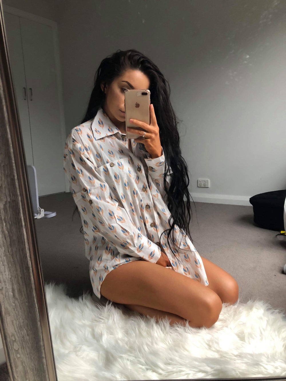 Image of Waterlily Oversized Shirt