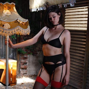 Image of Samantha Suspender Belt