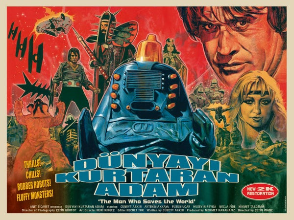 Image of Turkish Star Wars 2K print