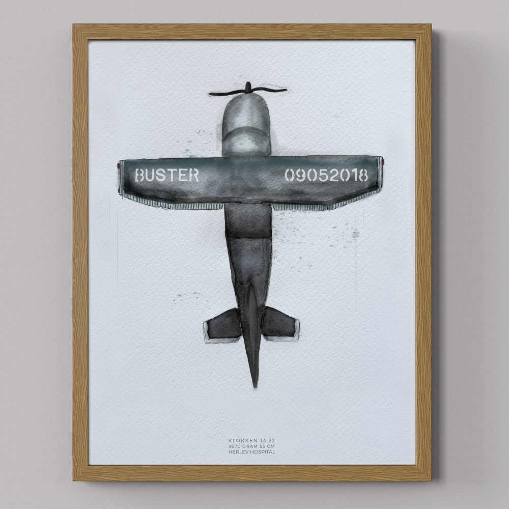 Image of Flyvemaskine, fødselstavle
