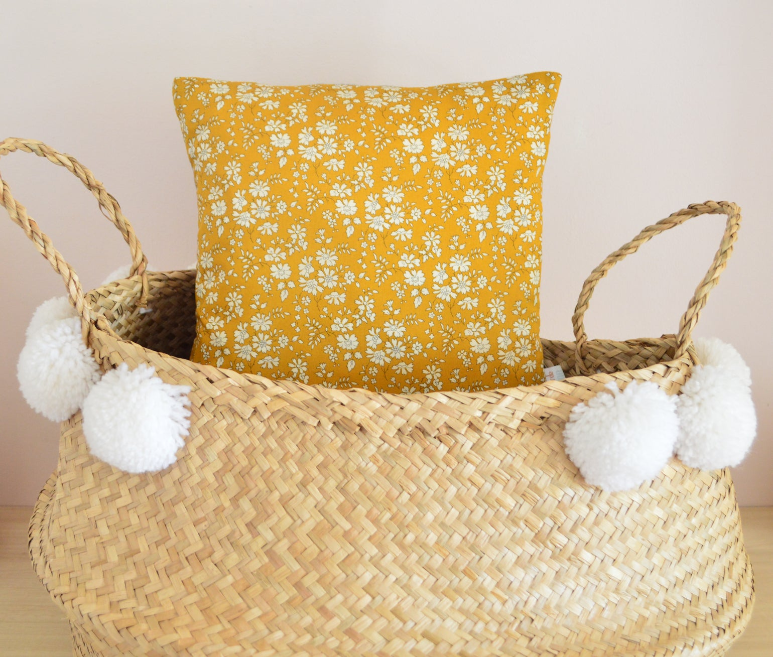 Image of COUSSIN LIBERTY MOUTARDE PETIT FORMAT
