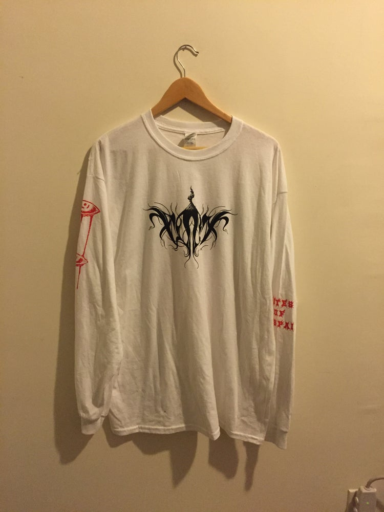 Image of RITES OF DESPAIR Longsleeve - WHITE