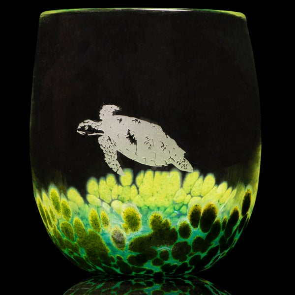 Image of ANIMAL TOTEM GLASS: TURTLE