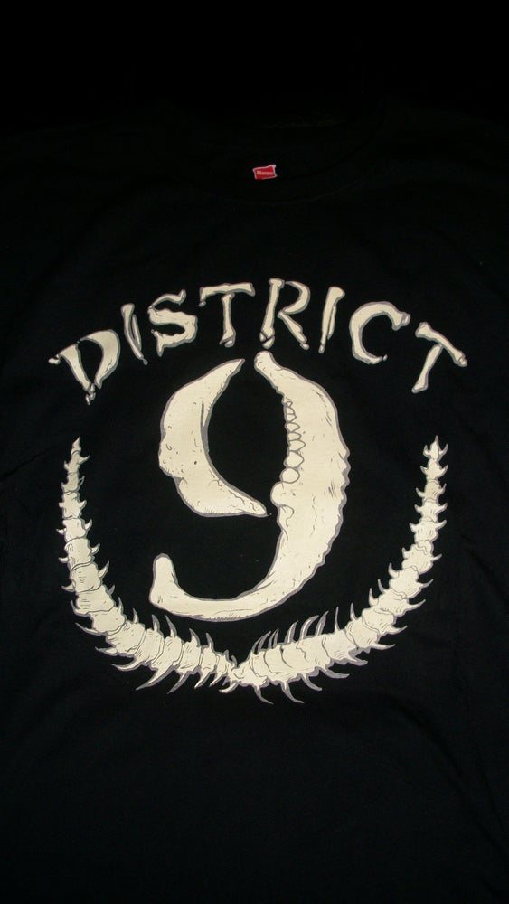 Image of DISTRICT 9 THIS IS HARDCORE T SHIRT