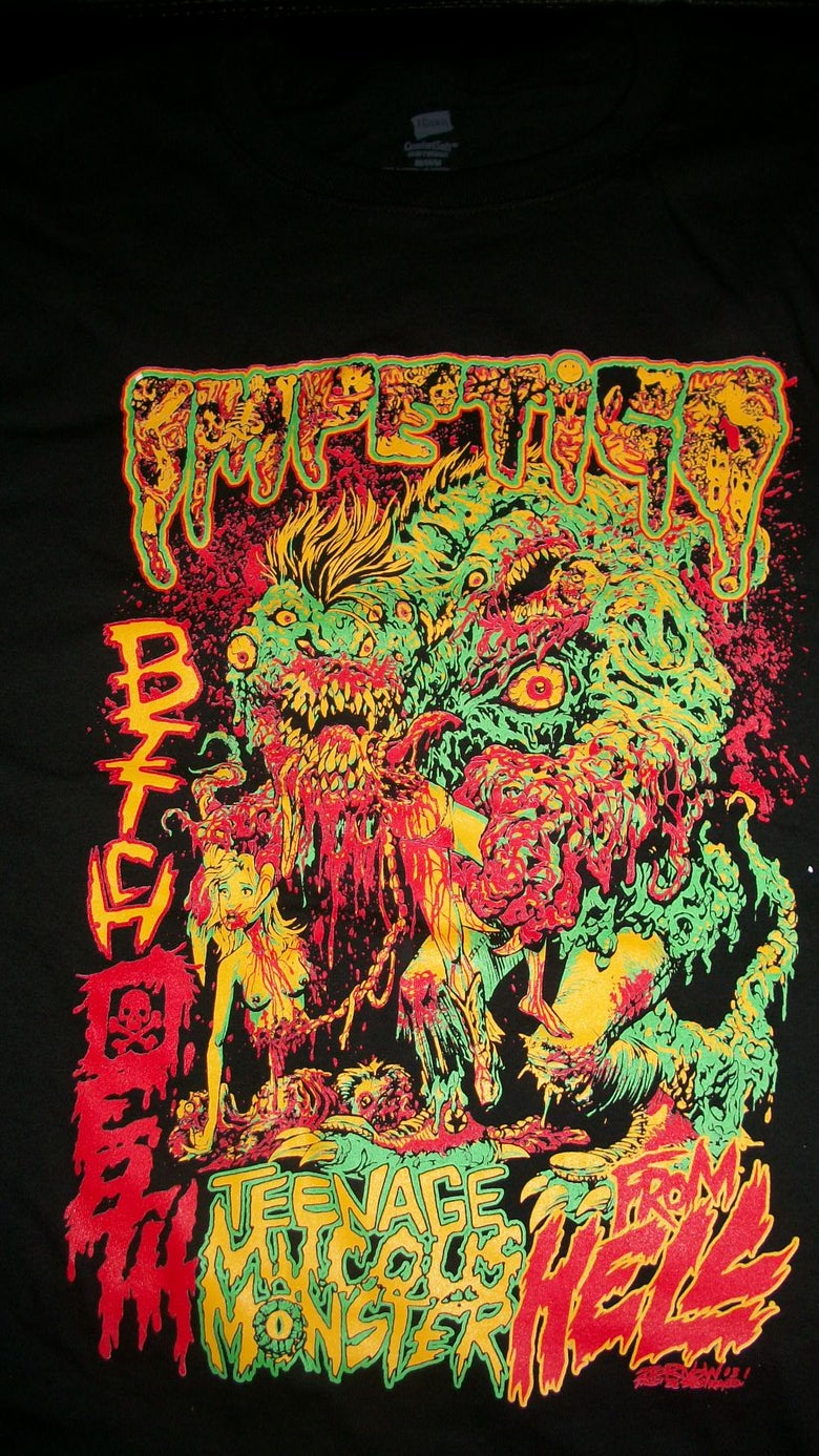 Image of EXCLUSIVE IMPETIGO T SHIRT (IN STOCK)
