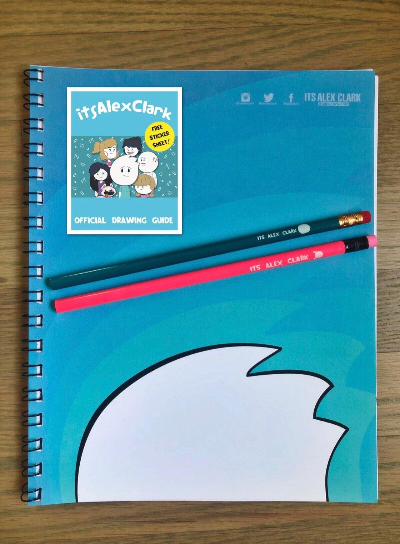 Image of Artist Bundle: Sketchbook, Pencils, Drawing Manual