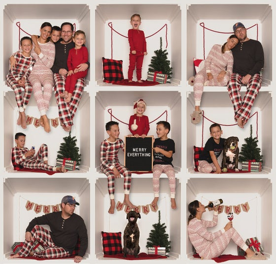 Image of Christmas PJ box collage