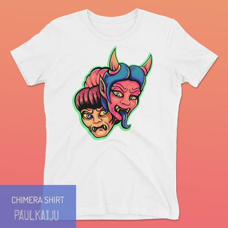 Image of Women's Chimera T-shirt: White