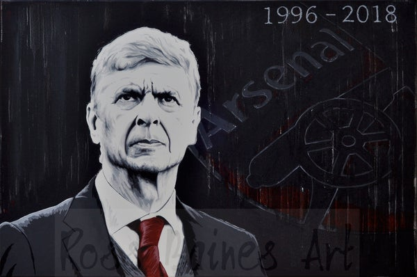 Image of MERCI ARSENE (3x2ft canvas print)