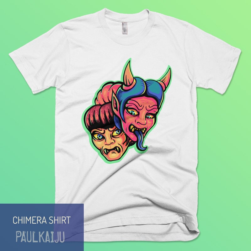 Image of Chimera T-shirt: White