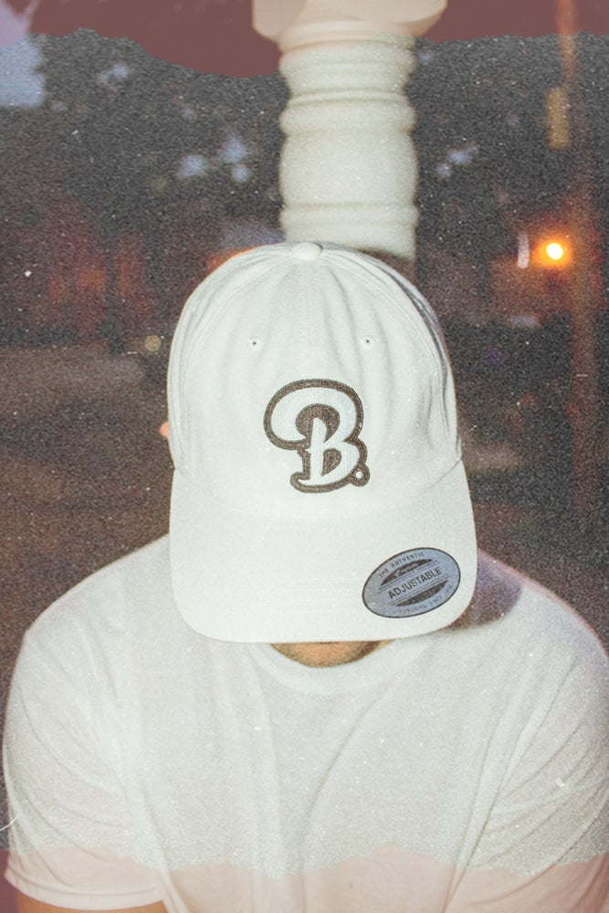 Image of B. Dad Hat (White)