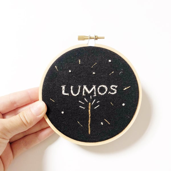 """Image of """"Lumos"""" Hoop"""