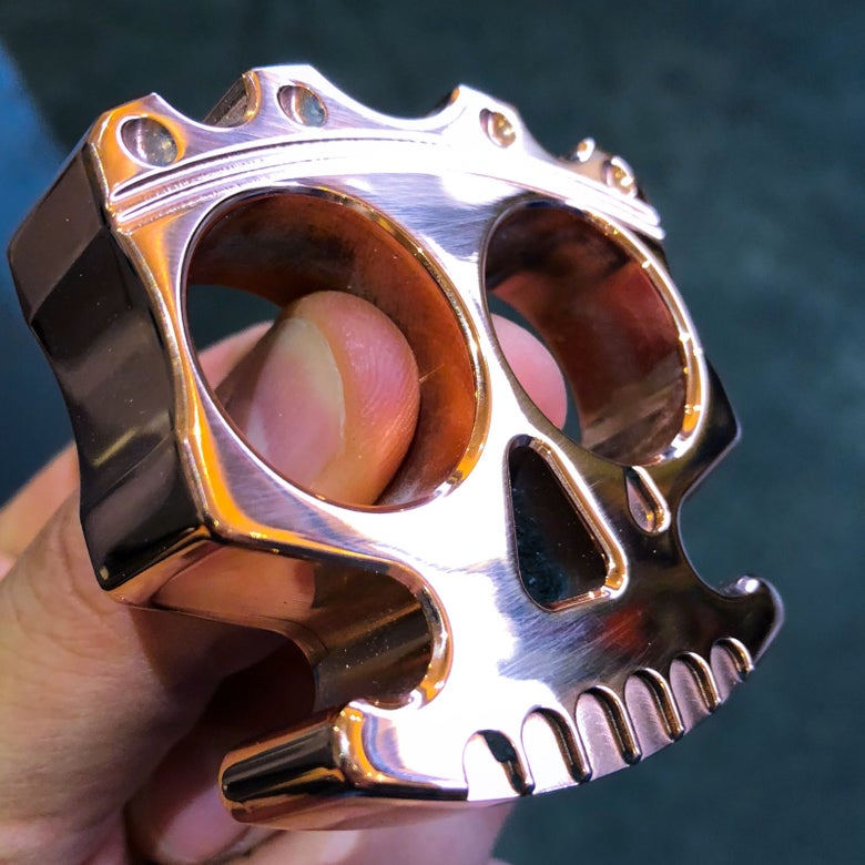 Image of King of skulls-COPPER