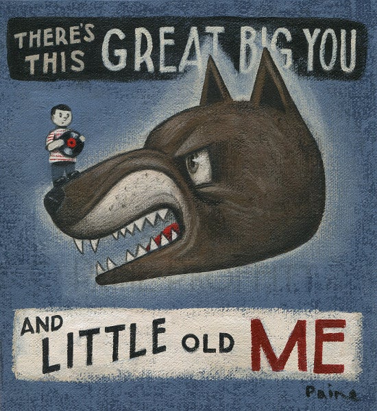 Image of Great Big You Little Old Me