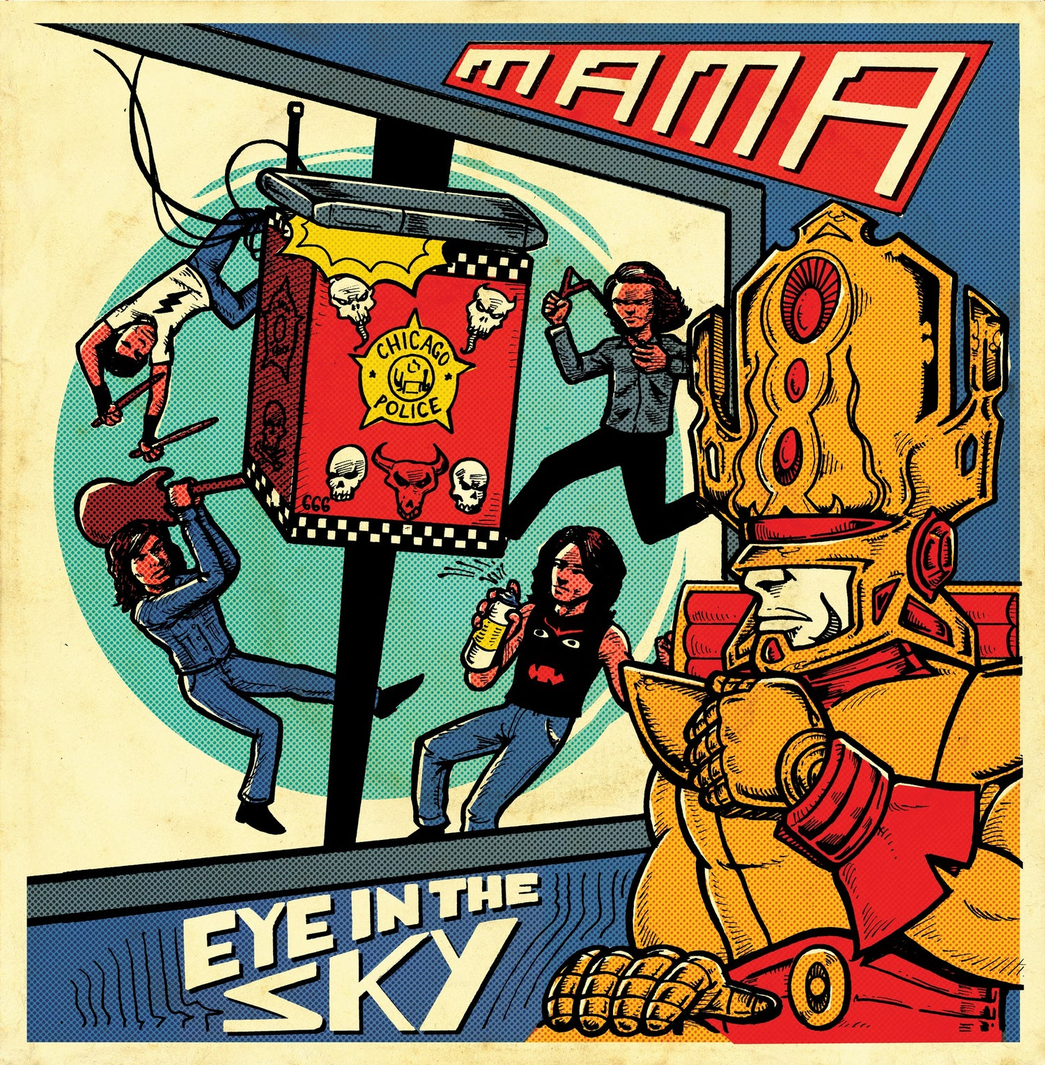 Image of [PRE-ORDER] MAMA - 'Eye In The Sky' EP (Got Kinda Lost, 2018 - LST-003)