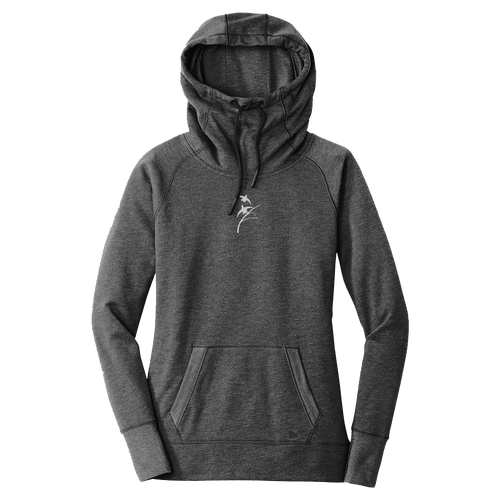 Image of Women's Black Heather HF Hoodie